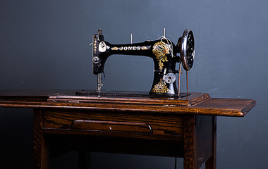 Antique Jones sewing machine